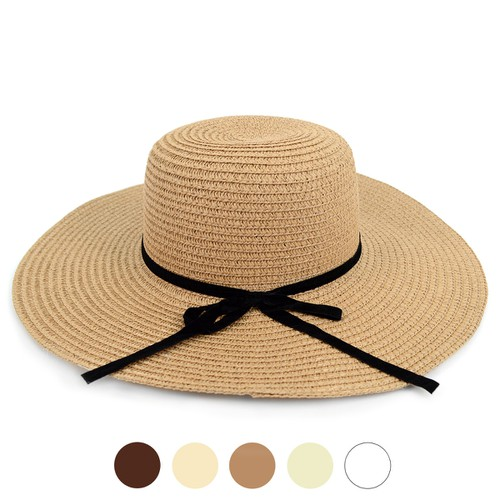 Women Wide Brim Floppy Sun Hat  - orangeshine.com