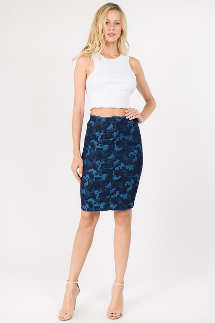 Camouflage In The City Skirts - orangeshine.com
