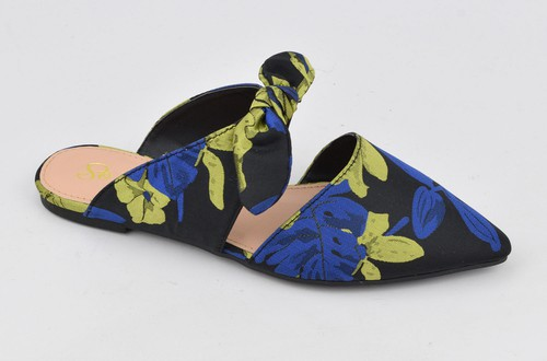 Multi Print Pointed Flat - orangeshine.com