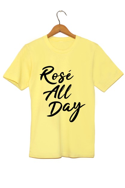 ROSE ALL DAY VINTAGE TEE - orangeshine.com