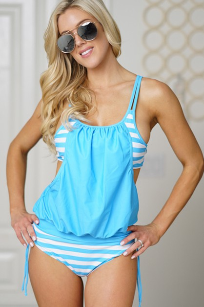 swimsuit scoop blue - orangeshine.com