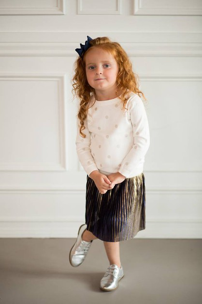 Ty Skirt - Little Girls - orangeshine.com