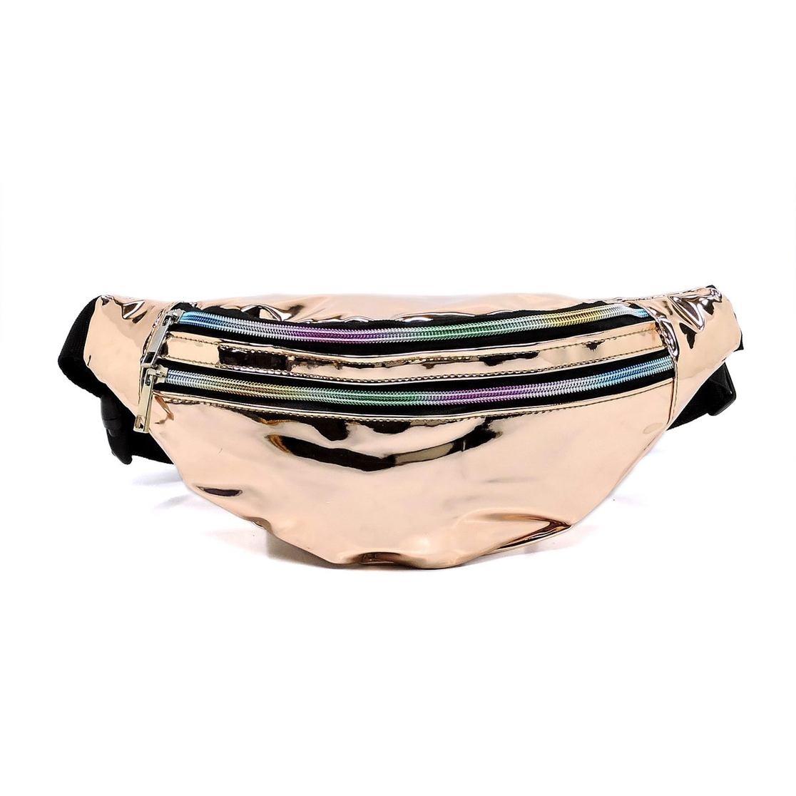 Mirror Metallic Fanny Pack - orangeshine.com