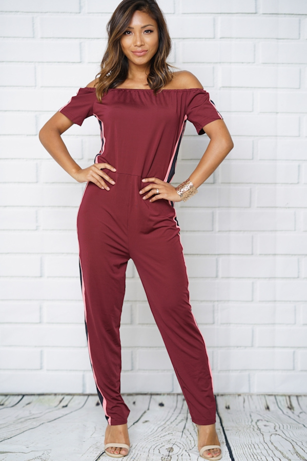 black jumpsuit pencil pants colorbar - orangeshine.com