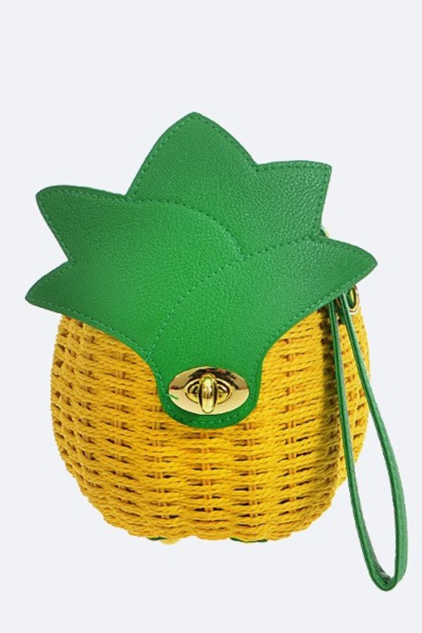 Iconic Pineapple Basket Weaved Swing - orangeshine.com