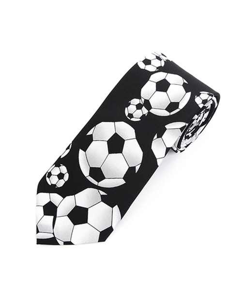 Football Soccer Novelty Tie - orangeshine.com
