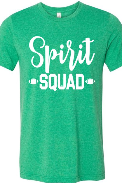 Spirit Squad Football HKelly Tee - orangeshine.com
