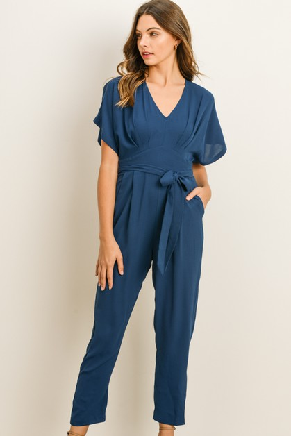 Empire Jumpsuit - orangeshine.com