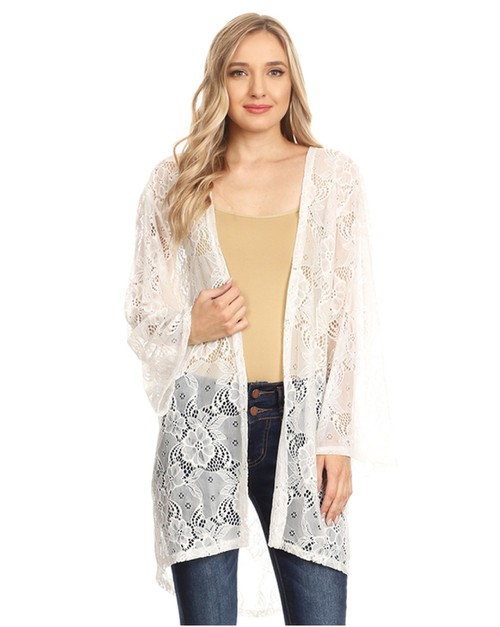 lace cardigan - orangeshine.com