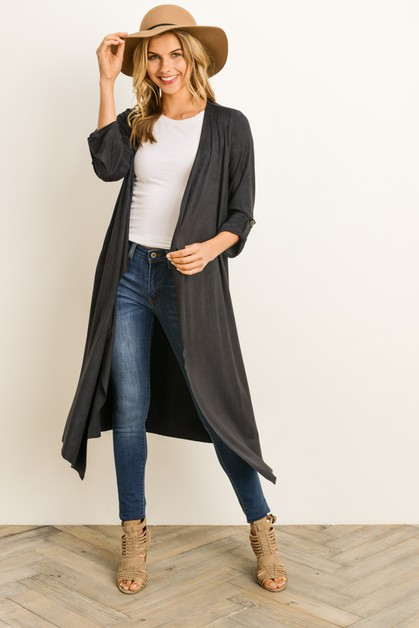 Draped Cardigan - orangeshine.com