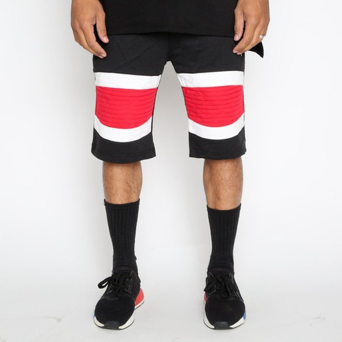 Stripe Short Pants - orangeshine.com