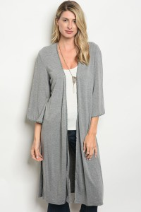 GRAY CARDIGAN - orangeshine.com