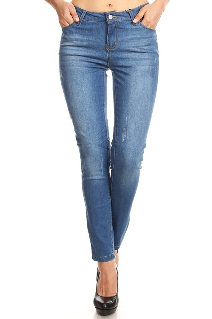 Skinny Denim Jeans Jeggings Stretchy - orangeshine.com