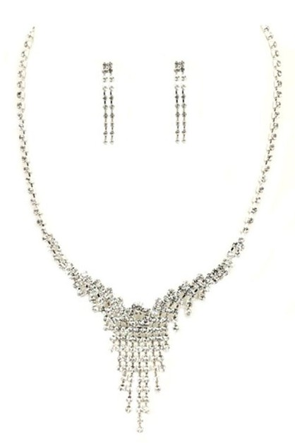 TASSEL NECKLACE SET  - orangeshine.com