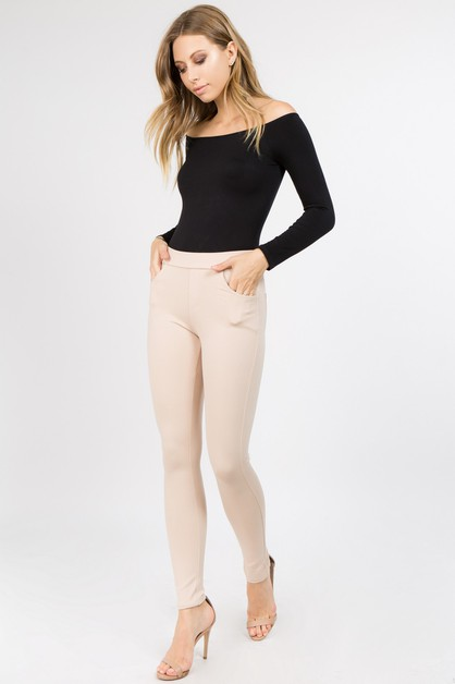 Ponte Pants - orangeshine.com