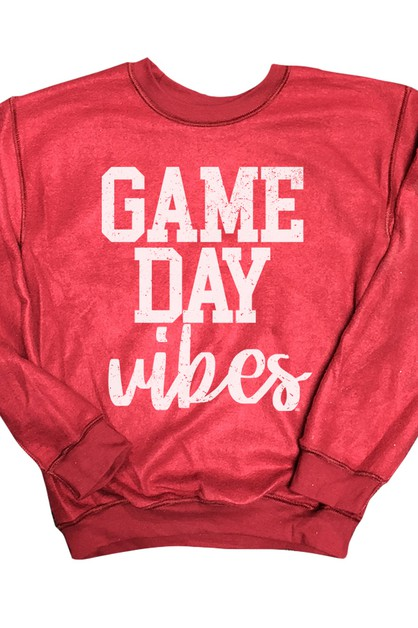 Gameday Vibes Inverted Sweatshirt - orangeshine.com