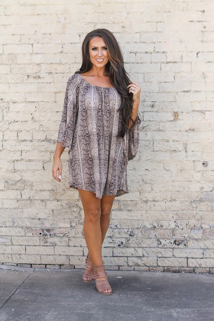 LAVENDER OFF SHOULDER SLEEVE TUNIC - orangeshine.com