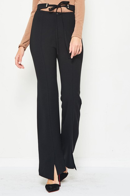self tie pants  - orangeshine.com