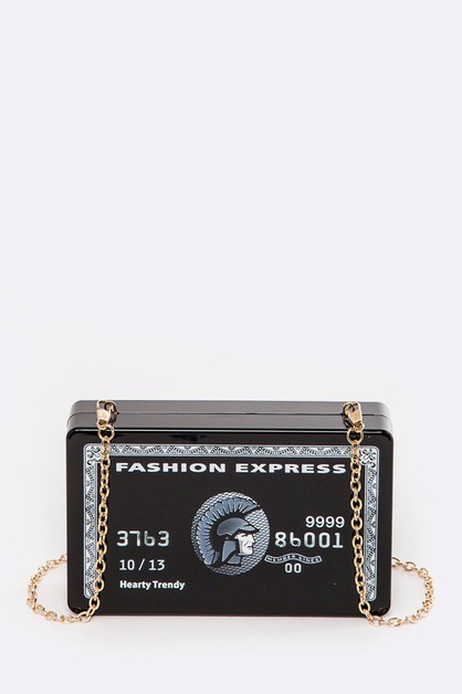 FASHION EXPRESS Box Clutch - orangeshine.com