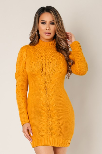 Sweater Knit Long Sleeve - orangeshine.com