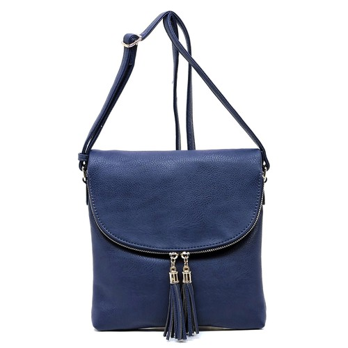 Fashion Flapover Crossbody Bag - orangeshine.com