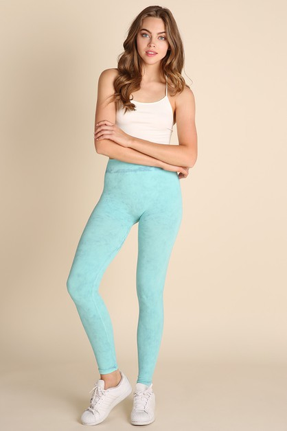 Mist Chevron Jeggings - orangeshine.com