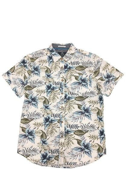 Floral Hawaiian Button Down Shirts - orangeshine.com