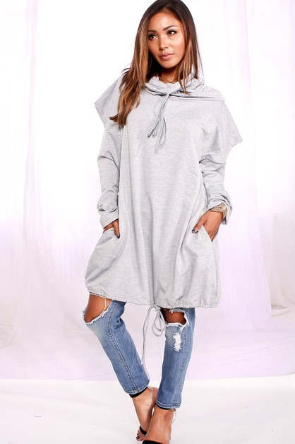 Long Sleeve Casual Loose Sweater - orangeshine.com