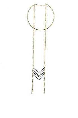 Arrow Statement Necklace - orangeshine.com