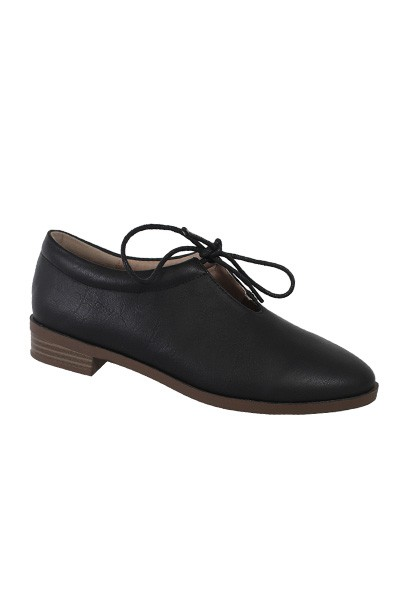PLAIN LACE UP OXFORD FLAT - orangeshine.com