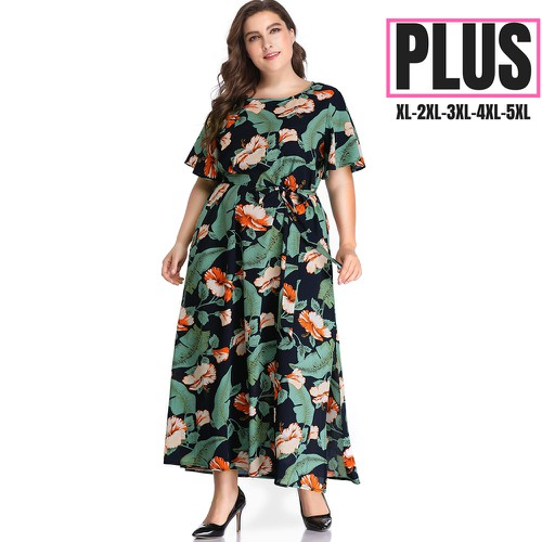 Floral Mix Print  Dresses   - orangeshine.com