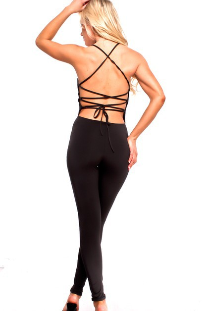 One Piece Backless Jumpsuits - orangeshine.com