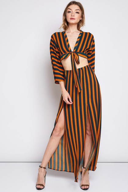 STRIPED SET - orangeshine.com