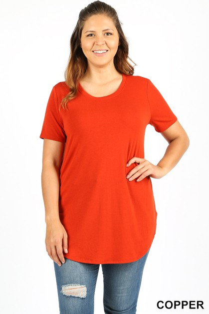 PLUS PREMIUM SHORT SLEEVE ROUND NECK - orangeshine.com