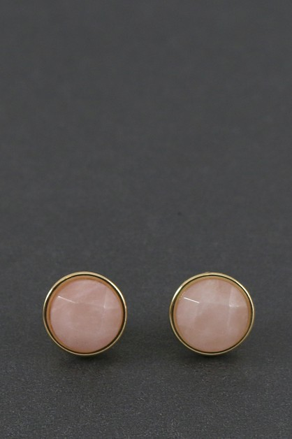 STONE POST Earring - orangeshine.com