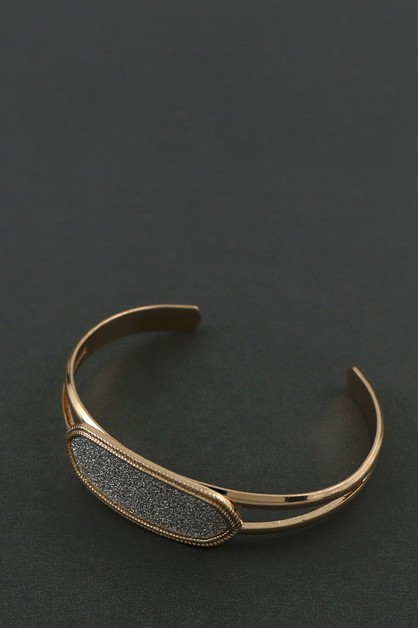 GLITTER CUFF BANGLE - orangeshine.com