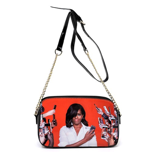 Magazine Cover Multi  Crossbody Bag - orangeshine.com
