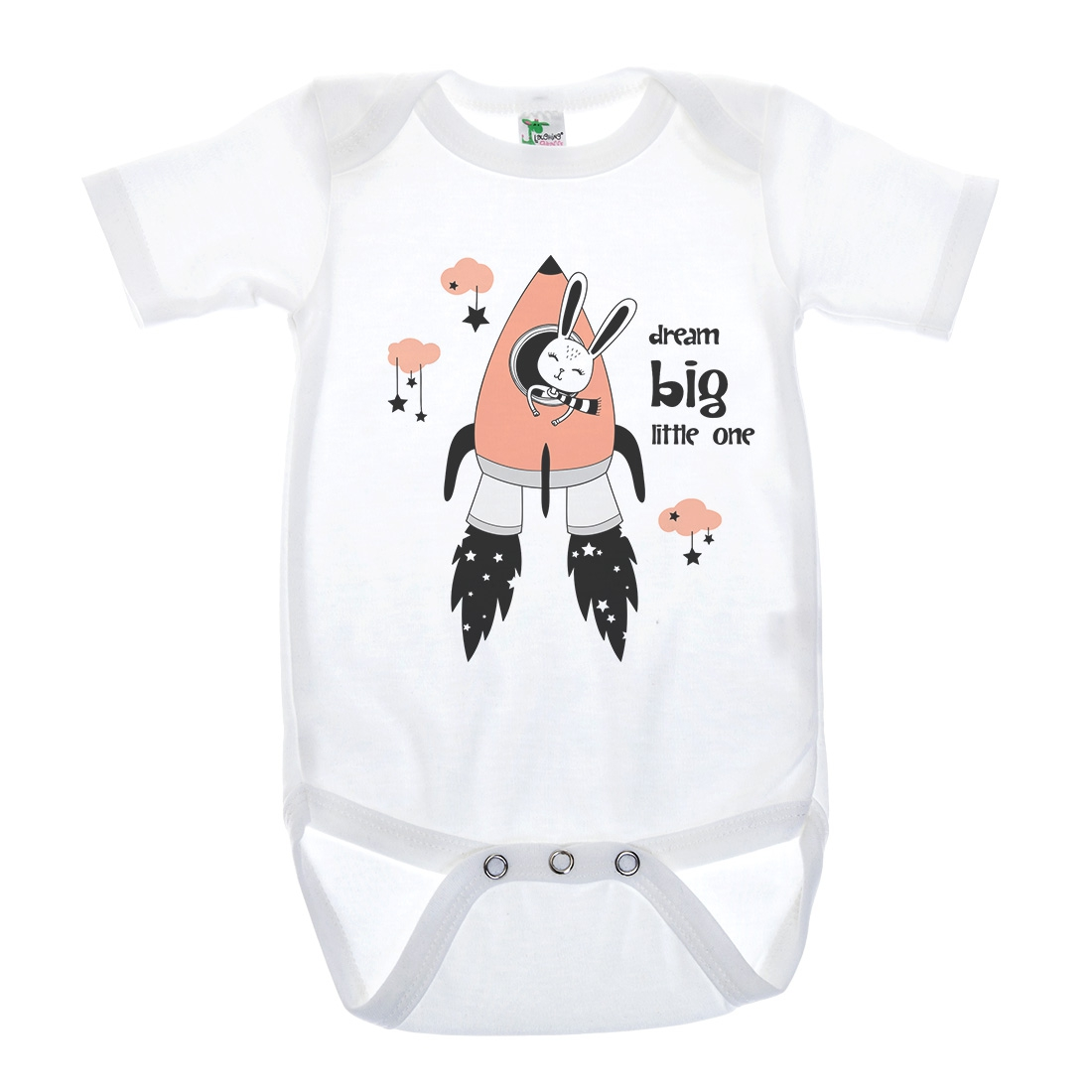 BABY SHORT SLEEVE BODYSUIT - orangeshine.com