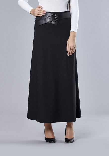 Guzella Black Skirt - orangeshine.com