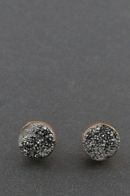 DURUZY POST EARRING   - orangeshine.com