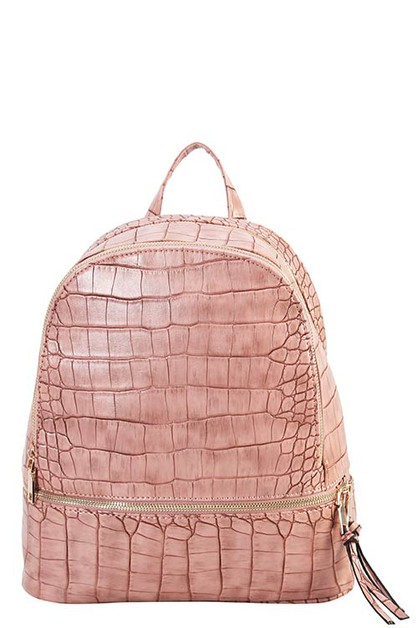 DESIGNER CROC BACKPACK - orangeshine.com