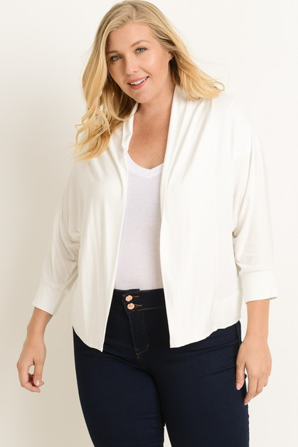 Plus Size Cardigan - orangeshine.com
