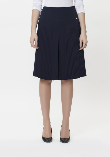Guzella Navy Skirt - orangeshine.com