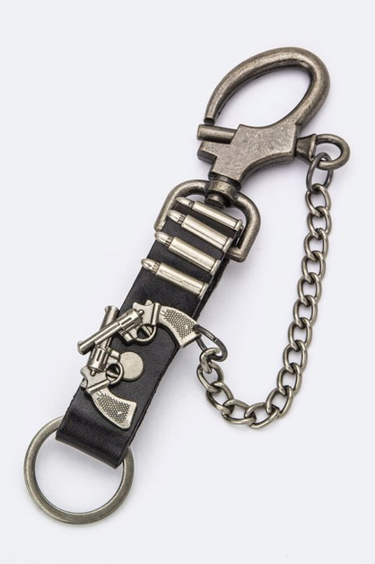 Dual Guns Key Chain - orangeshine.com
