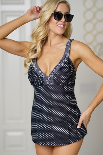 swimsuits BLACK DOTS - orangeshine.com
