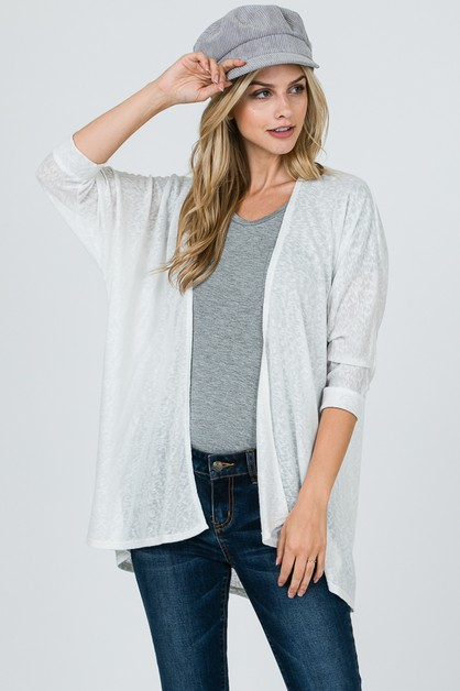 OVERSIZED CARDIGAN  - orangeshine.com