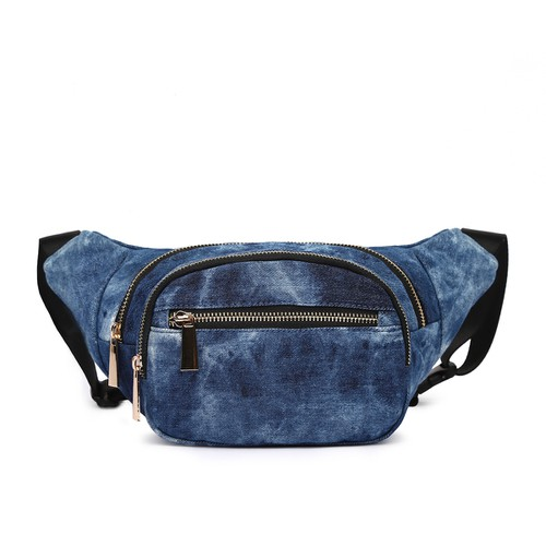 Denim Fanny Pack Waist Bag - orangeshine.com