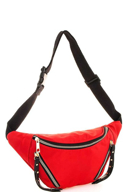 Designer Trendy Fashion Waist Bag - orangeshine.com