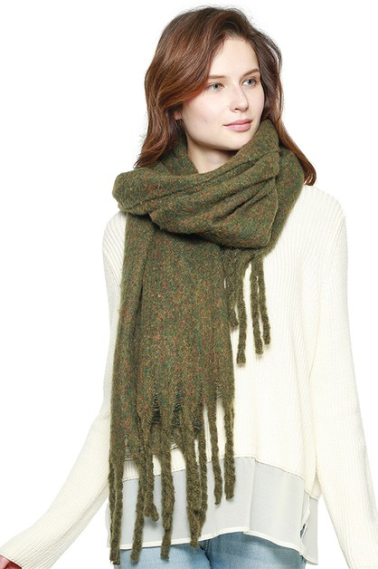 Soft Brushed Oversized Scarf - orangeshine.com