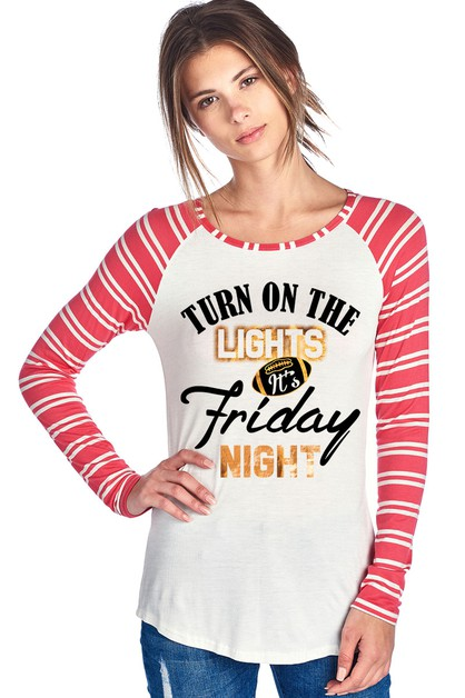 GRAPHIC STRIPE LONG SLEEVE - orangeshine.com